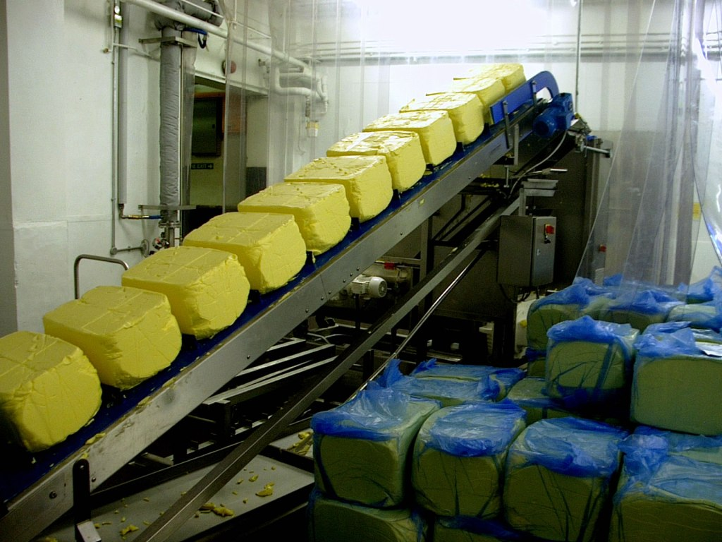 Unpumpable butter blocks