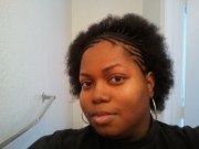 braided 4c natural hair unpurposely