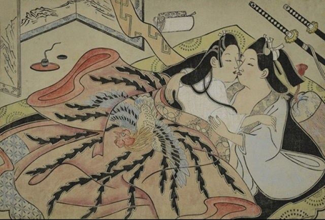 SHUNGA-WEB2017-lovers-embrace-under-a-cock-kimono