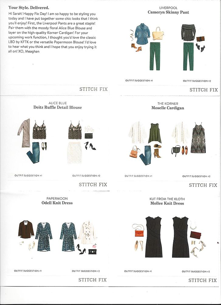 Stitch Fix Scan