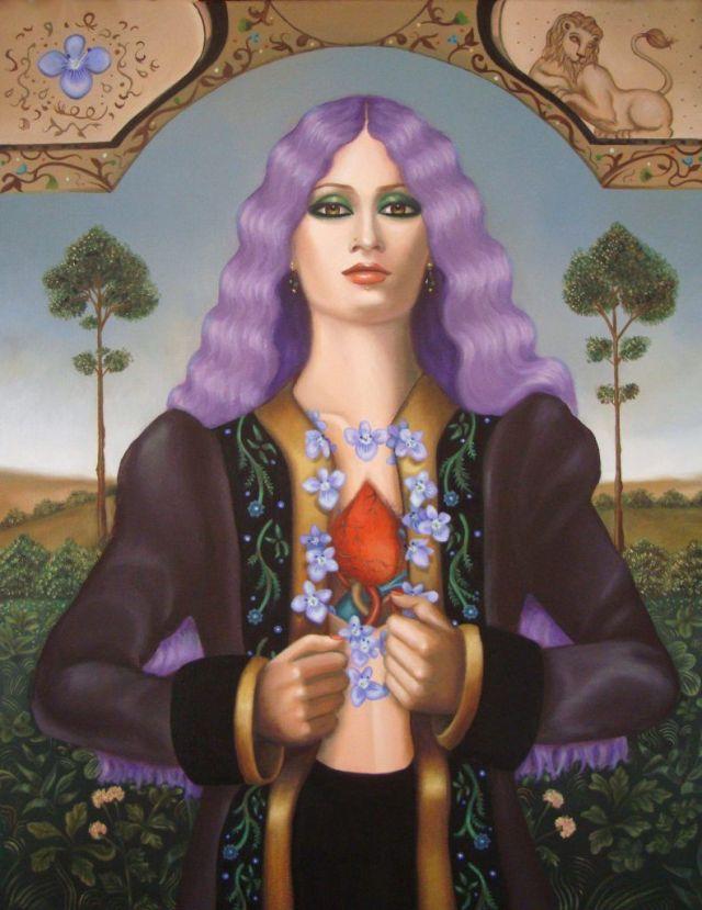 Violets for Heart Veins