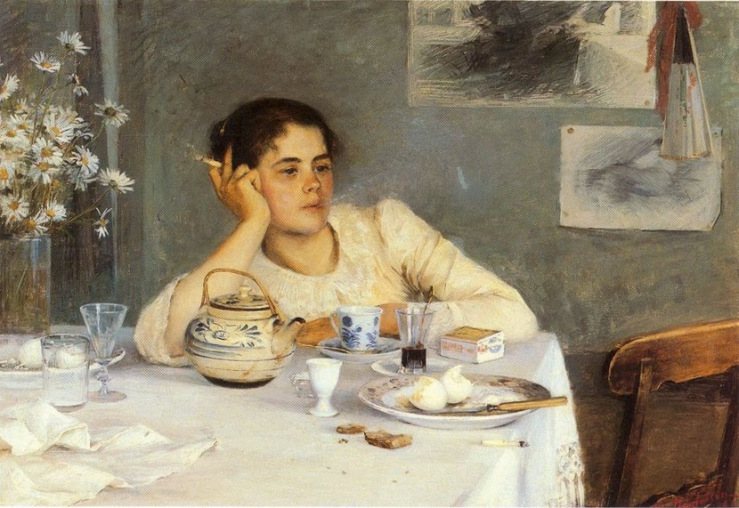 After Breakfast by Elin Kleopatra Danielson Gambogi.