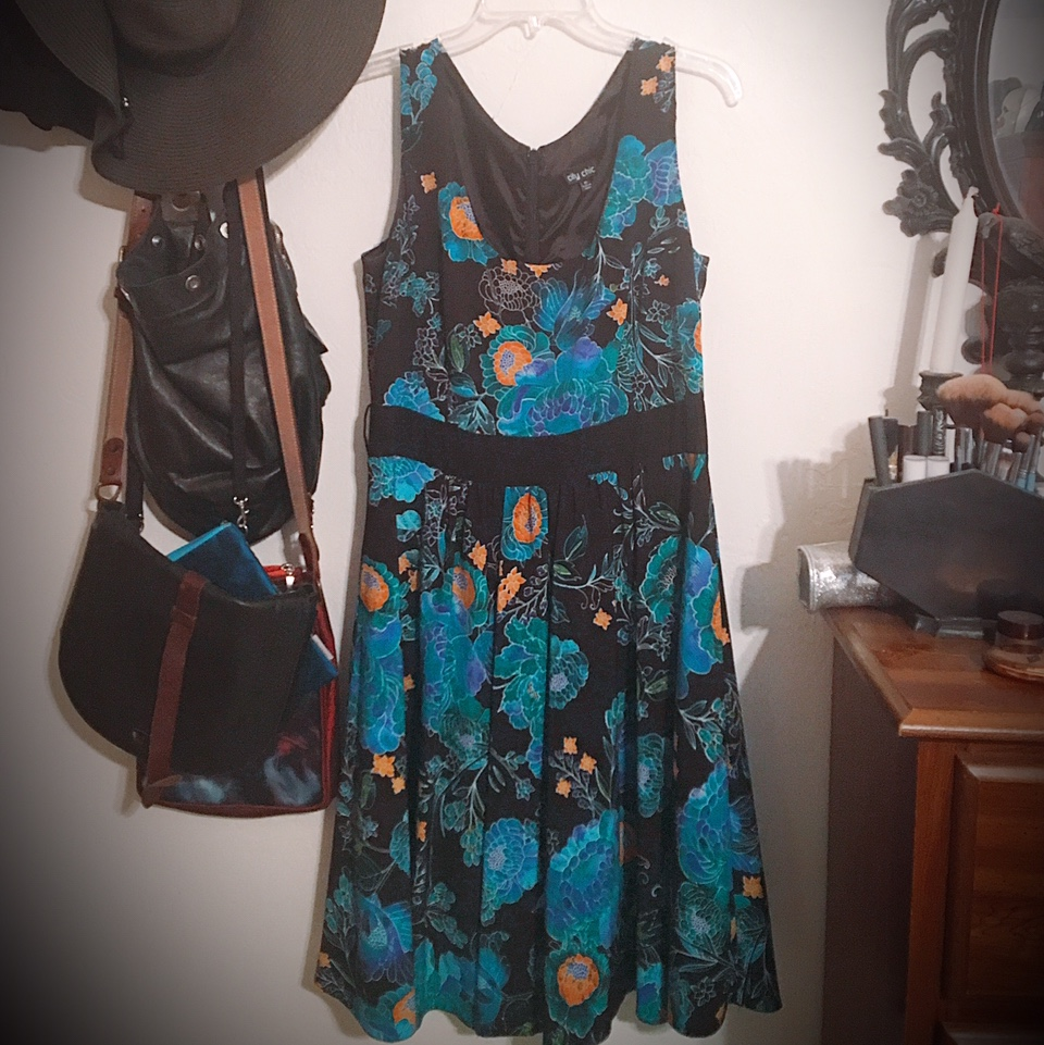 Brooding blooms sundress--make me an offer!
