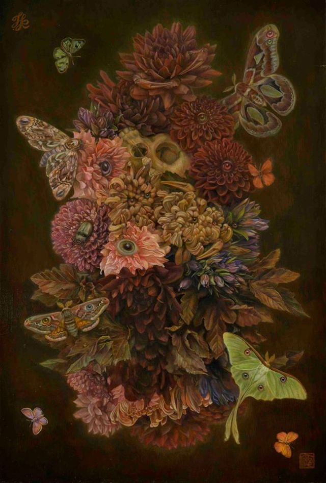 """All the Flowers and Insects"" Toru Kamei (2016)"