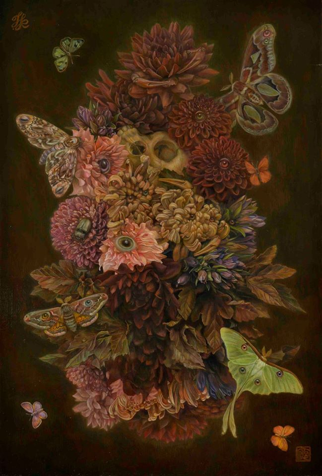 """""""All the Flowers and Insects"""" Toru Kamei (2016)"""