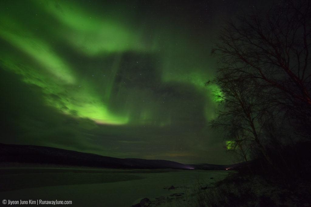 Northern Lights seen in Utsjoki