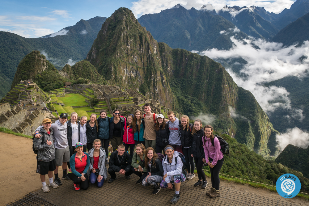 group travel to peru