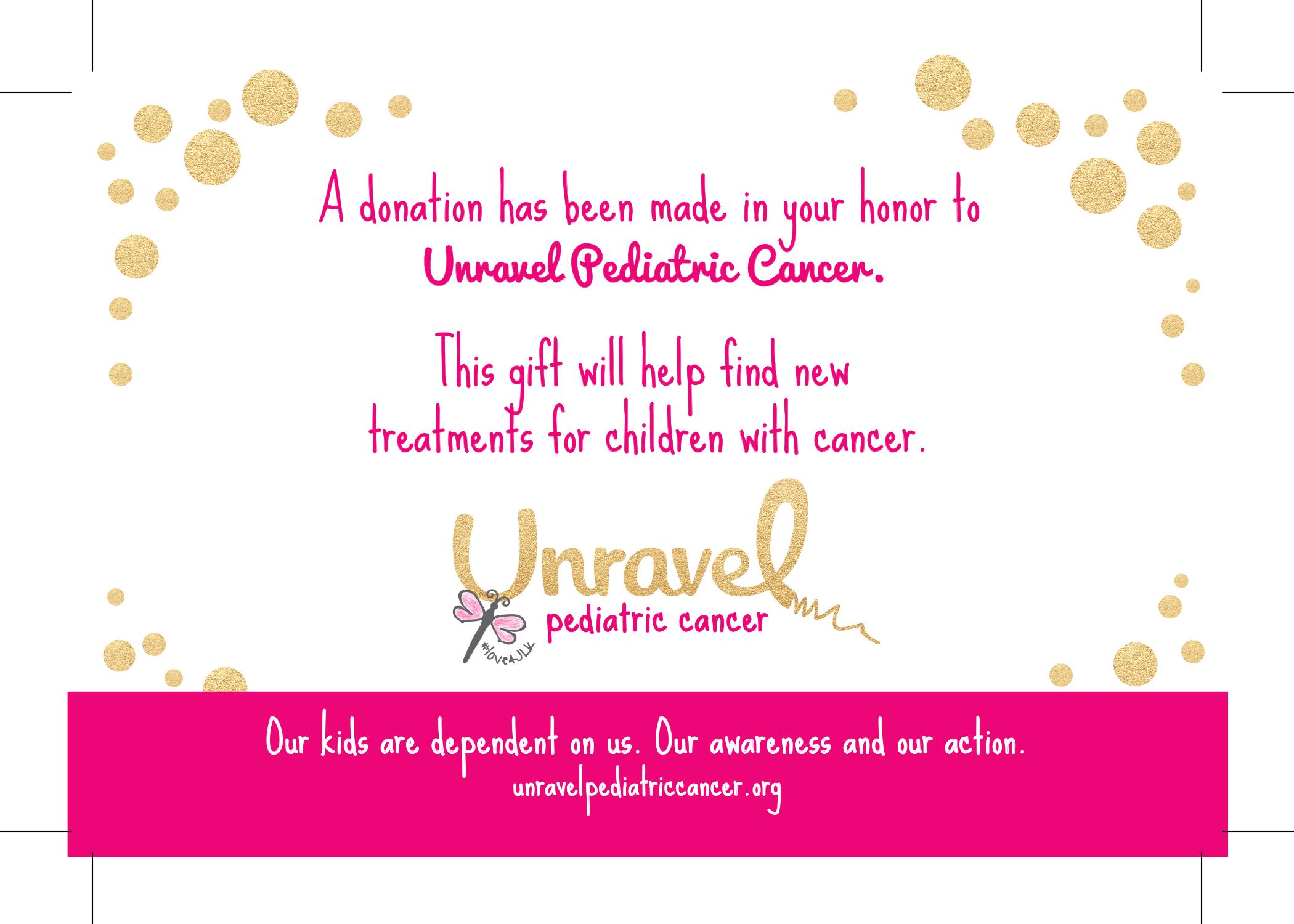 Printables Unravel Pediatric CancerUnravel Pediatric Cancer