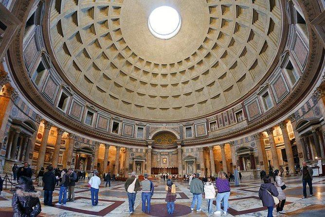 Inside view of Pantheon_study in italy