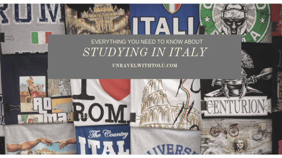 Guest Feature: Studying in Italy – Olamide