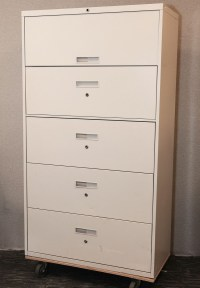 Five Drawer Filing Cabinets