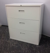 Three Drawer Lateral Filing Cabinets