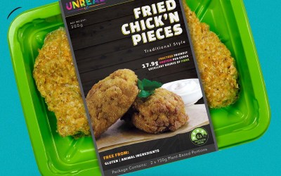 Unreal Co. Chick'n Fried Pieces