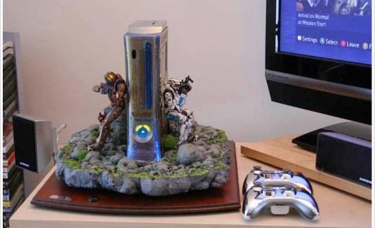 Halo Xbox 360 console case.
