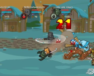 Unreal Game Review: Castle Crashers