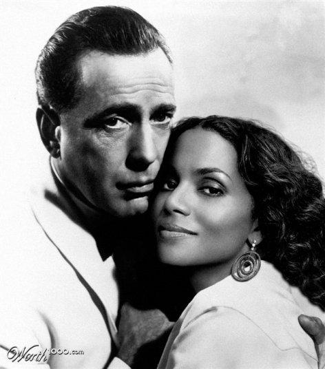 Humphrey Bogart et Halle Berry