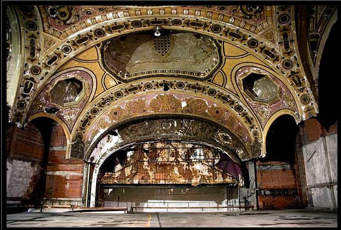 The Scariest Looking Abandoned Theaters