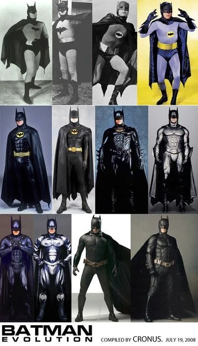 The Evolution Of The Batsuit