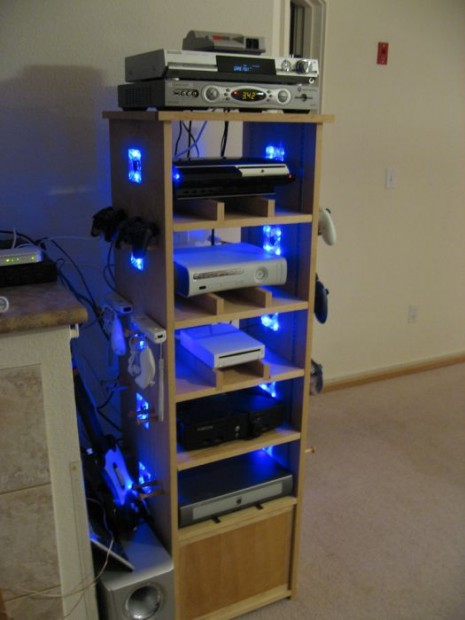 Awesome Cabinet for a Gaming Geek