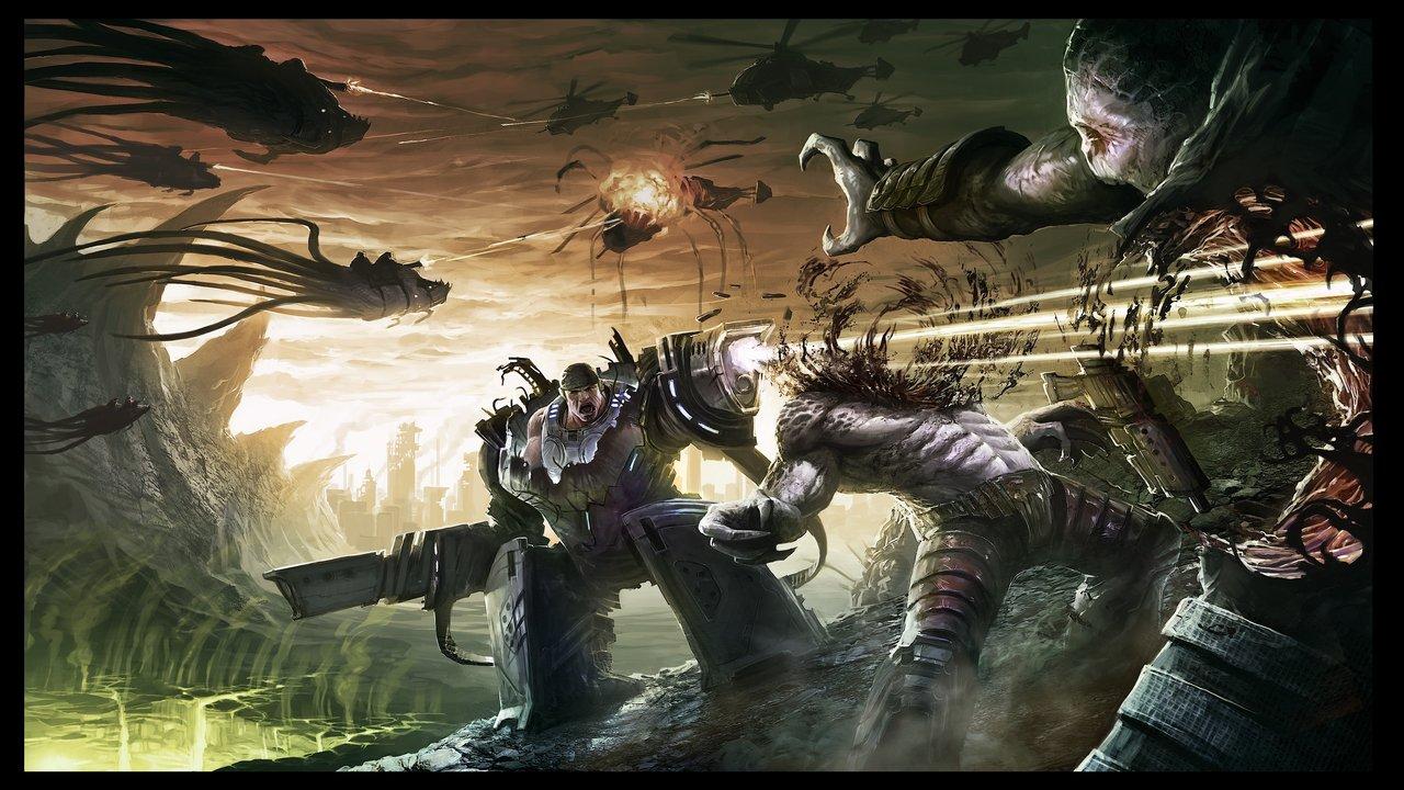 A Fantastic Gears Of War 3 Art Contest Gallery