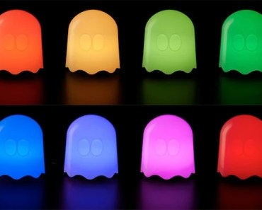 Light Up Your Room with the Pac-Man USB Ghost Lamp