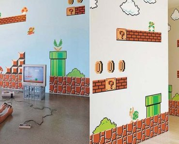 This is How You Make a Super Mario Themed Room