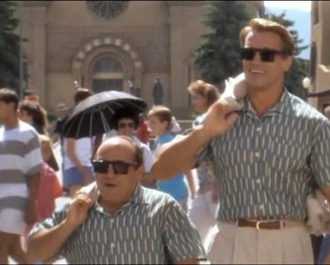 """If """"Call Me By Your Name"""" Starred Arnold Schwarzenegger and Danny Devito"""