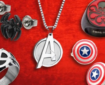 Five Awesome Pieces of Marvel Themed Jewelry