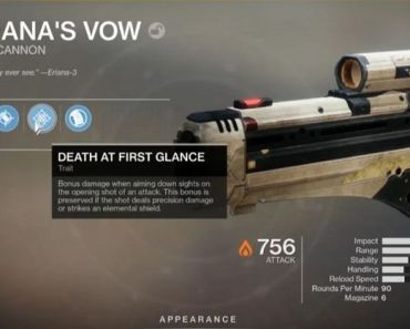 The Ultimate Guide For Completing the Eriana's Vow Catalyst in Destiny 2