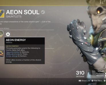 Our Picks for the Best Destiny 2 (and Worst) Warlock Exotics