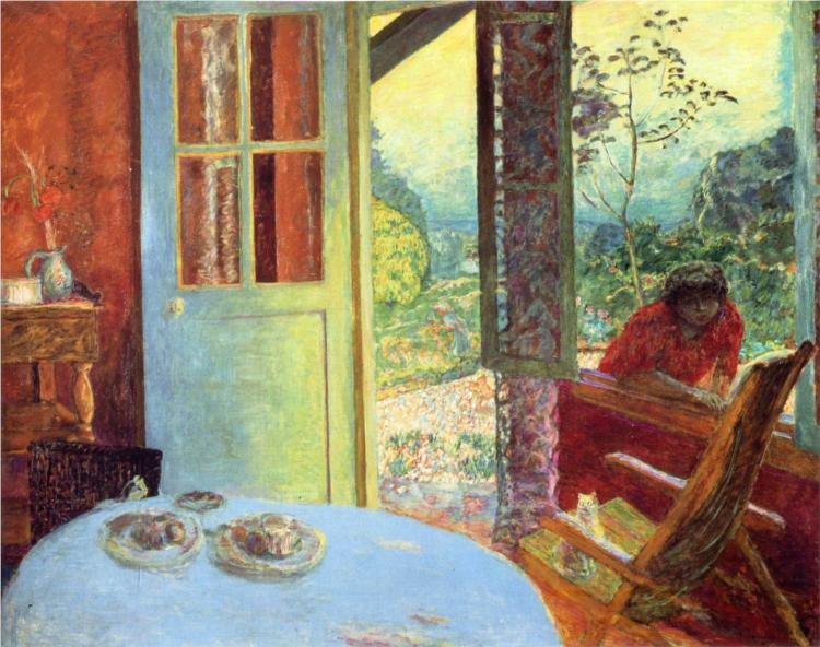 Bonnardthe Dining Room In The Country 1913 Unreal Nature