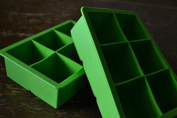 Green Ice Cube Trays