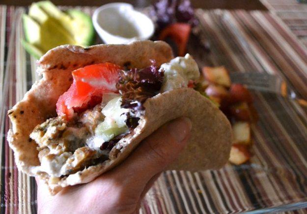 Tempeh Gyros with Tzatziki Sauce An Unrefined Vegan