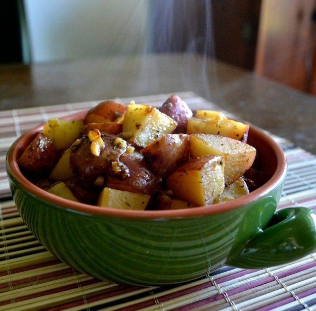Lemon Garlic Dill Potatoes
