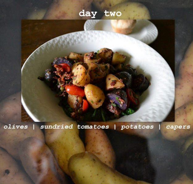 Potato Collage Day 2