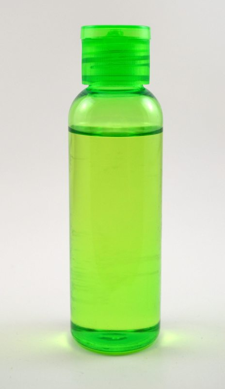 Oil in Green Bottle