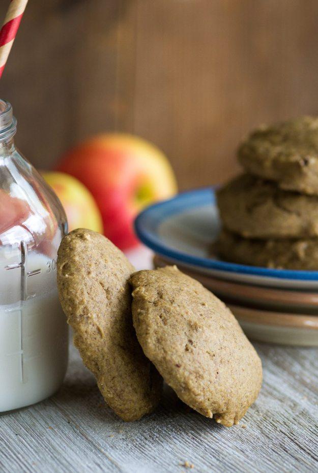Oil-free Apple Butter Cookies by An Unrefined Vegan