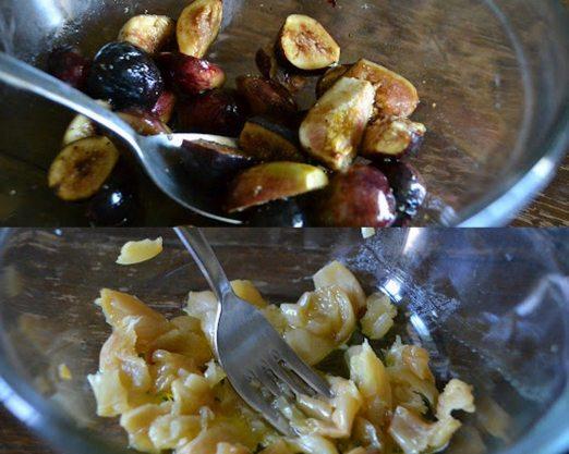 Figs Garlic Collage