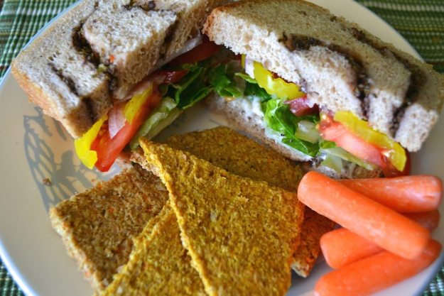 Fixin Sandwich An Unrefined Vegan