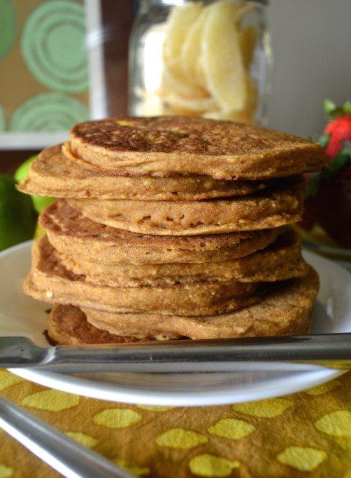 Mango Lime Pancakes An Unrefined Vegan