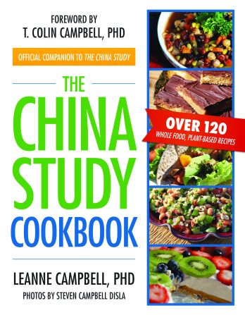 The China Study Cookbook Cover