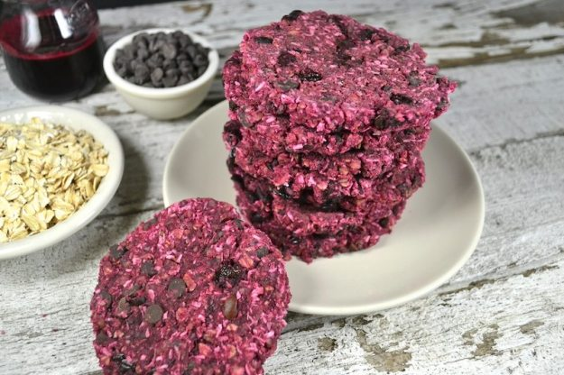 Raw Cherry Coconut Chocolate Cookies by An Unrefined Vegan
