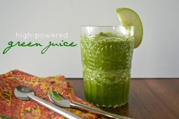 Green Juice An Unrefined Vegan