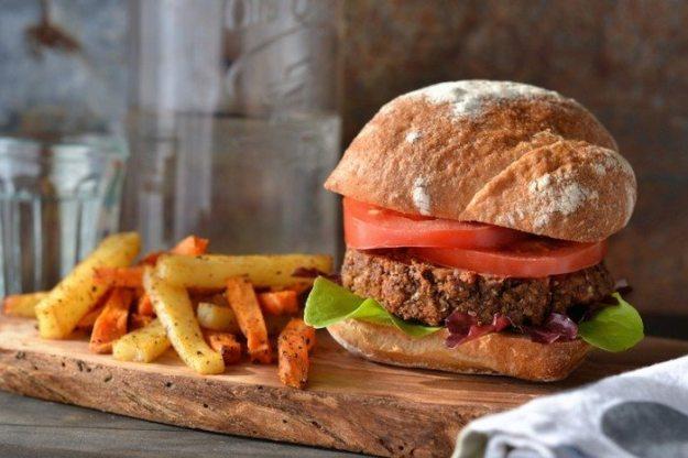 Mushroom Nut Burger An Unrefined Vegan