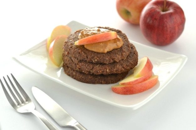 Raw Chocolate Caramel Apple Pancakes An Unrefined Vegan