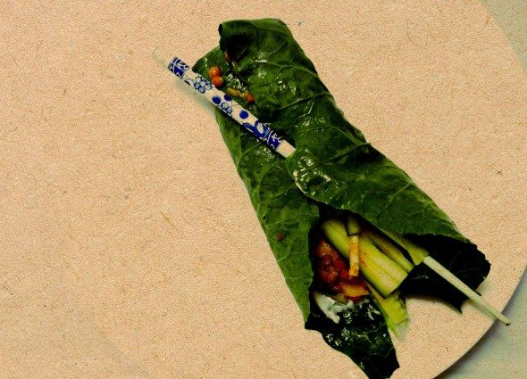 Lentil Collard Wraps Everyday Superfoods