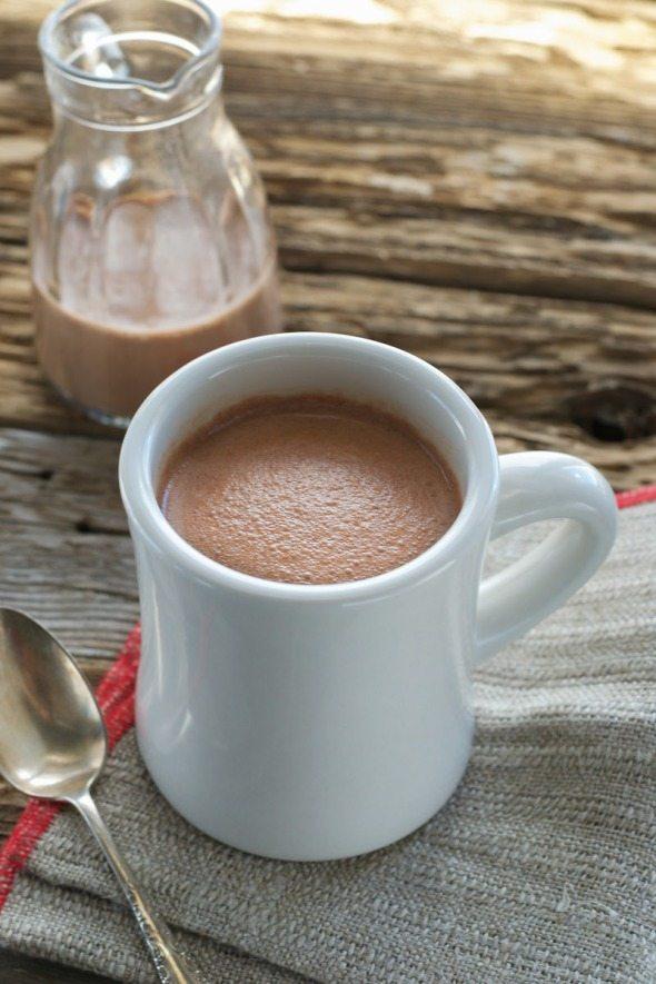 Chocolate Mint Creamer An Unrefined Vegan