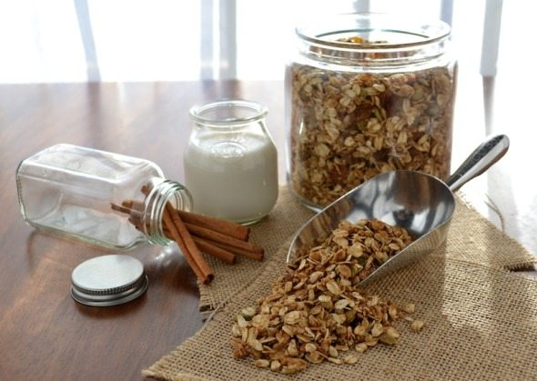 Maple Nut Granola An Unrefined Vegan