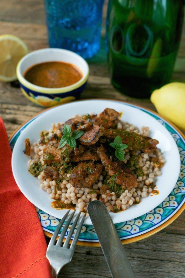 Moroccan Tempeh Chermoula An Unrefined Vegan
