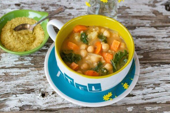 Chickpea Vegetable Soup An Unrefined Vegan